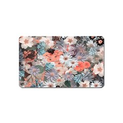 Spring Flowers Magnet (Name Card)