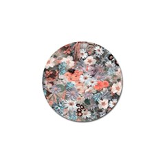 Spring Flowers Golf Ball Marker