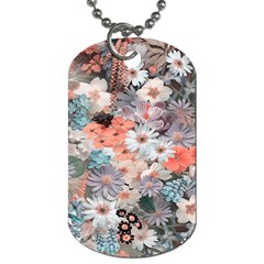 Spring Flowers Dog Tag (two Sided)