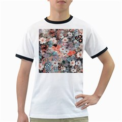 Spring Flowers Mens' Ringer T Shirt