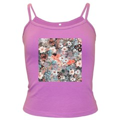 Spring Flowers Spaghetti Top (colored)