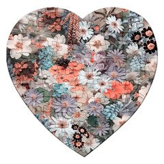 Spring Flowers Jigsaw Puzzle (Heart)