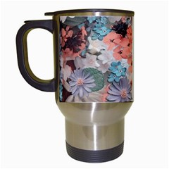 Spring Flowers Travel Mug (white)