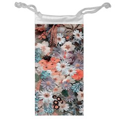 Spring Flowers Jewelry Bag