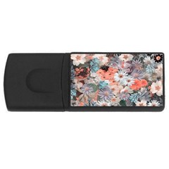 Spring Flowers 4GB USB Flash Drive (Rectangle)