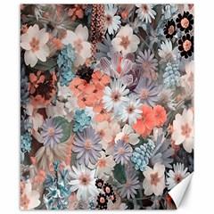Spring Flowers Canvas 8  x 10  (Unframed)