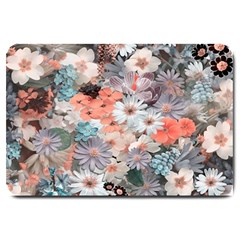 Spring Flowers Large Door Mat
