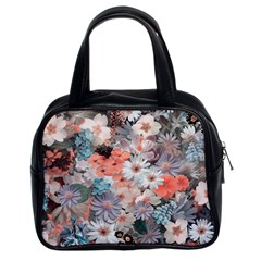 Spring Flowers Classic Handbag (two Sides)