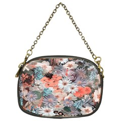 Spring Flowers Chain Purse (one Side)