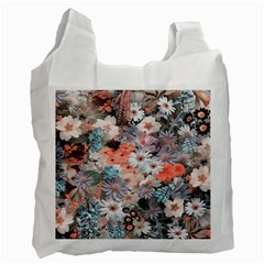 Spring Flowers Recycle Bag (One Side)