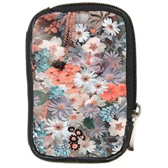 Spring Flowers Compact Camera Leather Case