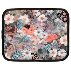 Spring Flowers Netbook Sleeve (XL)