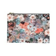 Spring Flowers Cosmetic Bag (Large)