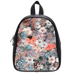 Spring Flowers School Bag (Small)