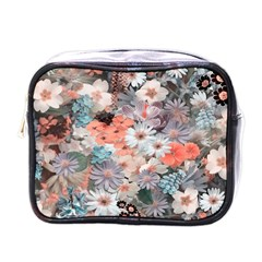 Spring Flowers Mini Travel Toiletry Bag (One Side)