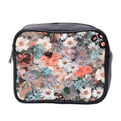 Spring Flowers Mini Travel Toiletry Bag (Two Sides)