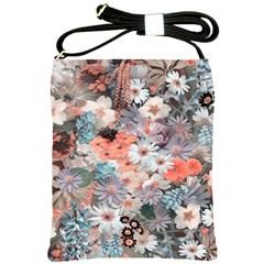 Spring Flowers Shoulder Sling Bag