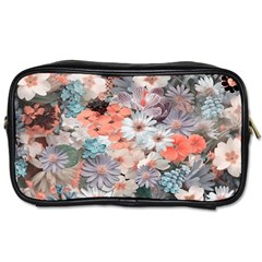 Spring Flowers Travel Toiletry Bag (two Sides)