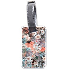 Spring Flowers Luggage Tag (Two Sides)