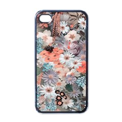 Spring Flowers Apple iPhone 4 Case (Black)