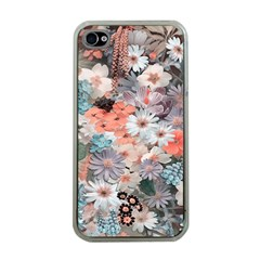 Spring Flowers Apple iPhone 4 Case (Clear)