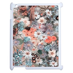 Spring Flowers Apple iPad 2 Case (White)