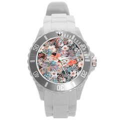 Spring Flowers Plastic Sport Watch (large)