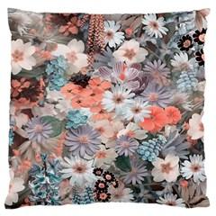 Spring Flowers Large Cushion Case (single Sided)