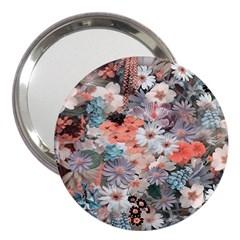 Spring Flowers 3  Handbag Mirror
