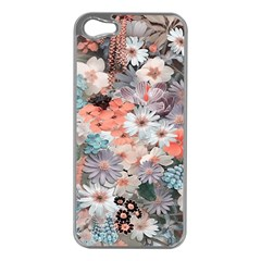 Spring Flowers Apple iPhone 5 Case (Silver)