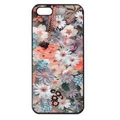Spring Flowers Apple Iphone 5 Seamless Case (black)