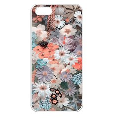 Spring Flowers Apple iPhone 5 Seamless Case (White)