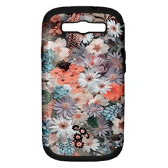 Spring Flowers Samsung Galaxy S Iii Hardshell Case (pc+silicone)