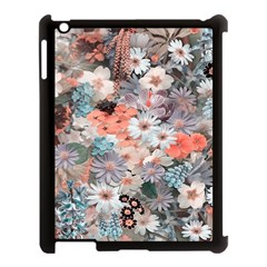 Spring Flowers Apple iPad 3/4 Case (Black)
