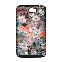 Spring Flowers Samsung Galaxy Note 2 Hardshell Case (PC+Silicone)