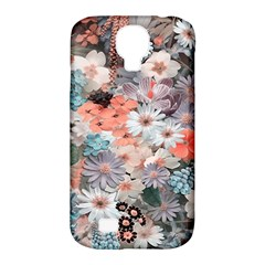 Spring Flowers Samsung Galaxy S4 Classic Hardshell Case (PC+Silicone)