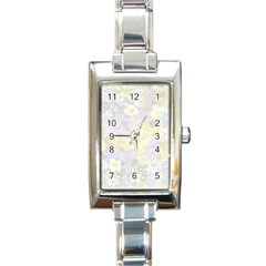 Spring Flowers Soft Rectangular Italian Charm Watch