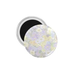 Spring Flowers Soft 1.75  Button Magnet