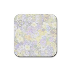 Spring Flowers Soft Drink Coaster (Square)