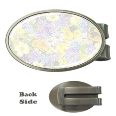 Spring Flowers Soft Money Clip (Oval)