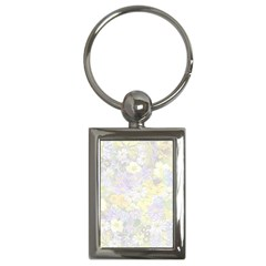 Spring Flowers Soft Key Chain (Rectangle)