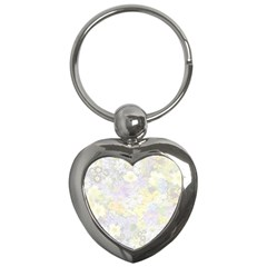 Spring Flowers Soft Key Chain (Heart)