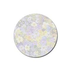 Spring Flowers Soft Drink Coasters 4 Pack (Round)