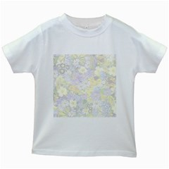 Spring Flowers Soft Kids' T-shirt (White)