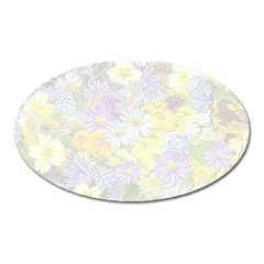 Spring Flowers Soft Magnet (Oval)