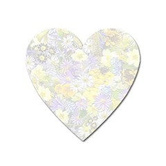 Spring Flowers Soft Magnet (heart)