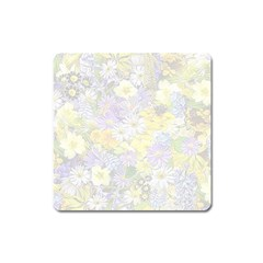 Spring Flowers Soft Magnet (Square)