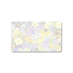 Spring Flowers Soft Magnet (name Card)