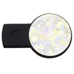 Spring Flowers Soft 2GB USB Flash Drive (Round)
