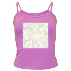 Spring Flowers Soft Spaghetti Top (Colored)